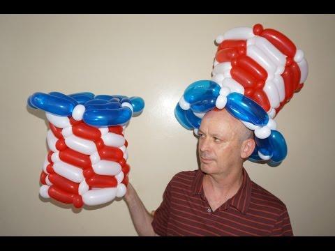 Как сделать шляпу из шарика