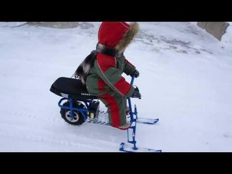Снегоход для детей своими руками