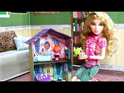 Как сделать школу для кукол мир мечты