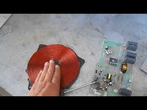 Индукционная плита своими руками видео - НО ЕФППИ