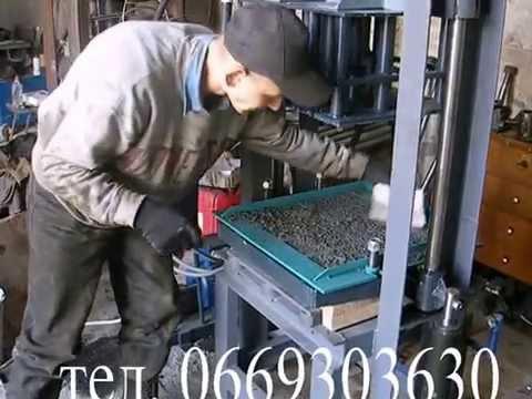 Вибропресс своими руками для производства брусчатки