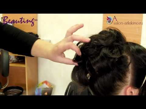Мастер класс по укладке волос коротких женских