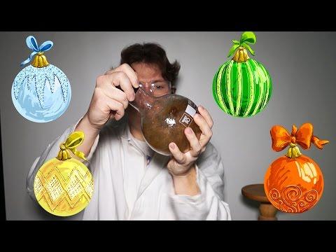 ГНТИ - Как самому сделать елочные игрушки? - Видеорепортажи из мира науки и техники
