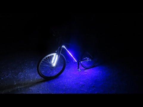 Как сделать свет на велосипед своими руками 19