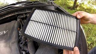 ГНТИ - салонный фильтр Hyundai Tucson - Видеорепортажи из мира науки и техники